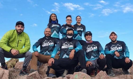 14 Chihuahuenses en el pico de Orizaba